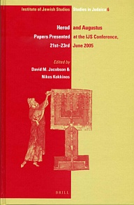 Herod and Augustus: Papers Presented at the IJS Conference